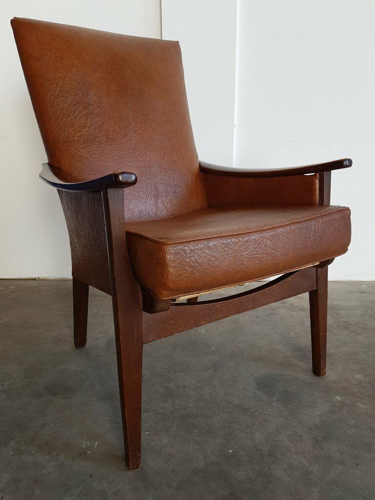 VINTAGE PARKER KNOLL No 924/5/6/7 ARMCHAIR / FIRESIDE RETRO LOOKING CHAIR DELIVERY AVAILABLE
