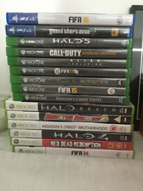Several games for sale here