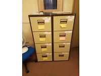 4 drawer filing cabinets #079