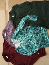 Ladies tops and shirts size 16