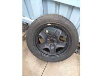 Car Tyre and rim, unused 205/55 R16 91W