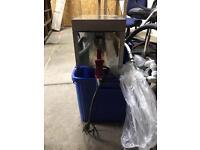 Stainless hot water dispenser