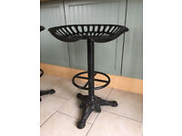 2 vintage tractor stools to sell