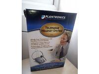 Plantronics S12 headset / New