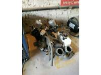 Rover V8 inlet manifolds & twin SU Carbs with ancillaries