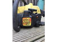 McCulloch chainsaw Mac 335 spares or repairs