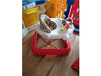 Babywalker with lights and sounds