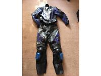 IXS motorcycle leathers size small jacket and trousers