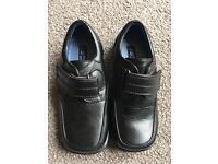 Boys black shoes. Size 12
