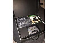 Limited edition call of duty Xbox one(with box and turtle beach headset)