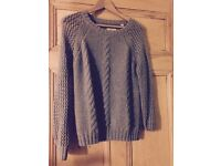 Jack Wills grey jumper size 8