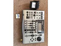 Boss BR-864 8 track digital recorder with power supply and memory card