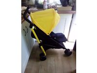 Tesco easy fold stroller