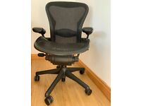 Herman Miller Aeron Size B - Fully Loaded - Excellent Condition