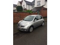 Nissan Micra 1.4 year 2006, 5 door, automatic transmission, mileage 65,000, new tires, new silencer.