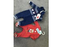 Christmas baby clothes brand new with tags aged 0-3 months