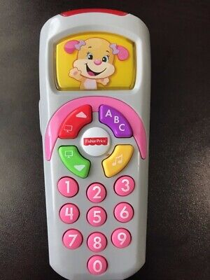 Fisher Price Laugh and Learn Remote Teach Numbers ABC Colors Baby Toy
