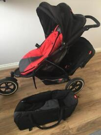 Phil & Ted Explorer In-line Double Buggy