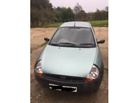 Ford KA green 3 door 27k Vgc Barely used, long MOT