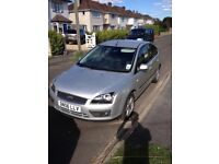 2006 Ford Focus Silver Zetec 1.6 Used-good condition