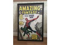 Framed Amazing Fantasy #15 Spider-Man Poster