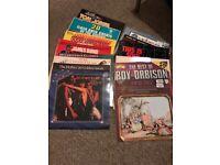 Lot of 17 Vinyl records