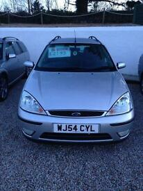 Ford Focus tdci estate only 82000 miles 12 months mot 6 months premium warranty