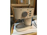 RETRO Cream Francis Illy coffee machine