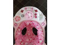 Graco pink walker