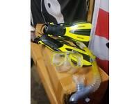 head adult snorkeling set