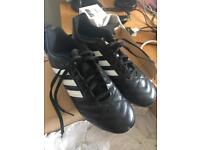 Adidas boys football boots size 7 used twice