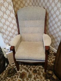 Sturdy Armchair Mint Condition