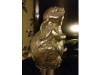 glass rabbit lamp