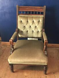 Georgian style occasional chair