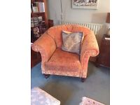 3 Seater Sofa & Matching Arm Chair