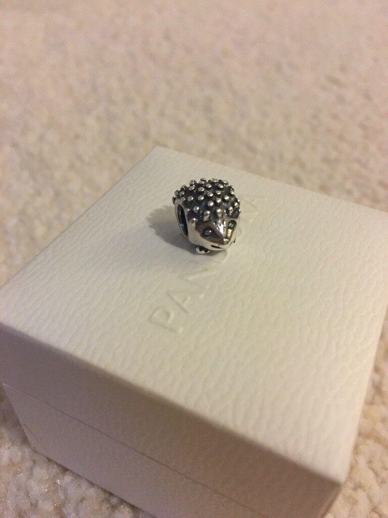 Pandora Charm - Hedgehog (box not included)