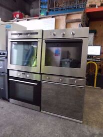 Large Selection of Ovens Available. Single ,Double and Freestanding. Warranty Given on All Ovens.