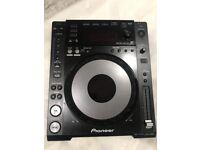 Pioneer CDJ-850 K Black DJ USB MP3 CD Player Deck
