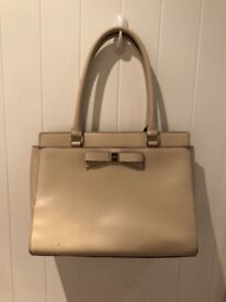 Kate Spade White Leather Bag