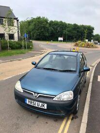 Vauxhall Corsa 2001 1.2