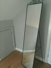 Large full length stand alone mirror