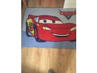Cars movie rug