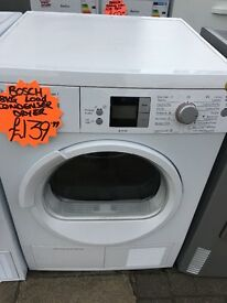 BOSCH 8KG DIGITAL SCREEN CONDENSER TUMBLE DRYER