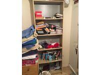 Tall bookcase/shelving unit - bargain £20