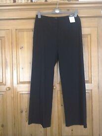 Womens wide legged smart trousers, bundle 4.