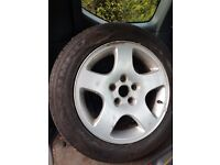 Audi alloy with new tyre 205/55/16