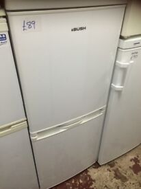 Bush fridge freezer £89