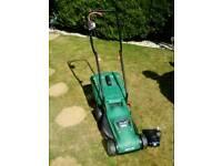 Qualcast cordless lawn mower