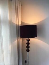 purple floor lamp