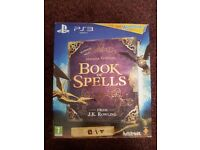 NEW PS3 Wonderbook - Book of Spells (Includes Book, Game, Camera and Move Control)